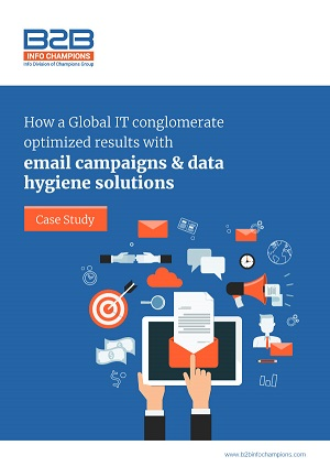 Email campaign and data hygiene solution